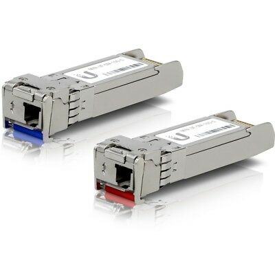 Ubiquiti U Fiber SFP+ Single-Mode Module 10G BiDi 20 Pack UF-SM-10G-S-20