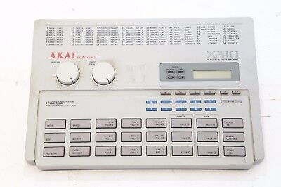 AKAI Professional XR10 16 BIT PCM DRUM MACHINE XR-10 AS-IS