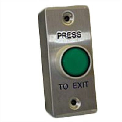 FAS PB038D Large Green Illuminated Button Request To Exit Button