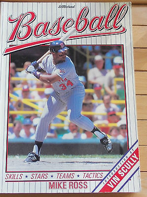 Book Buch Baseball 1988 Mike Ross Major League History Club Profiles Yearbook