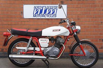 1972 Moto Guzzi stornello 125, great 4 stroke with just 16954kms UK Registered