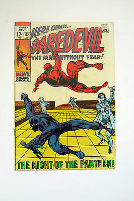 Daredevil (1966) 52 The Night Of The Panther - Black Panther Windsor-Smith