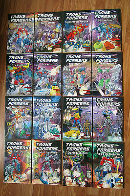Transformers Uk Titan Original Tpb 16 Books Complete Set Furman Marvel Marvel