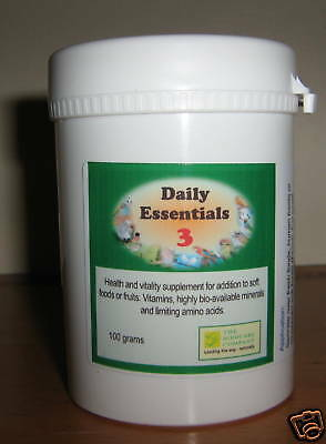 DAILY ESSENTIALS 3 - 100g - FOR BIRDS - Birdcare Co.