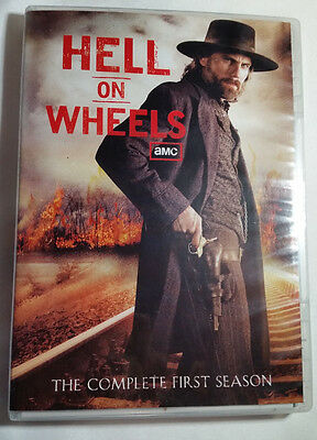 Hell on Wheels: The Complete First Season 1 (DVD, 2012, 3-Disc Set)