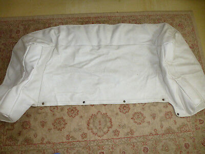 FORD ESCORT MK3 / 4 CABRIOLET ( 80/90 ) TONNEAU COVER IN White