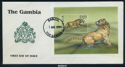 GAMBIA 1999 Block output on FDC (90809)