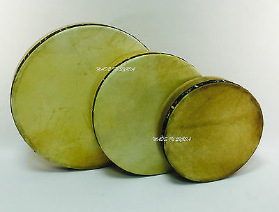 Dap Daf Gaval Duf Frame Drum Bendir Genuine leather Hande Made طارة دف مزهر