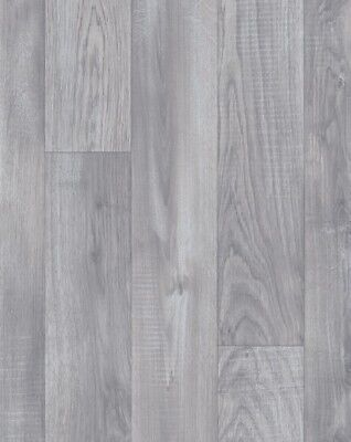 Modern Living Alba 793 Grey Wood Effect Vinyl Flooring 2m 3m 4m Wide
