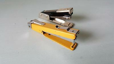 2 x Vintage Small Office Staplers - Apsco A10 & Bostitch 88