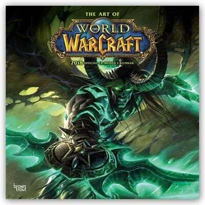Kalender 2018 : World of Warcraft Wandkalender