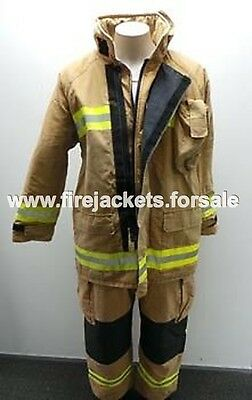 Structural Fire Fighter Jackets & Trouser Set fireman  Stock Is Running Out