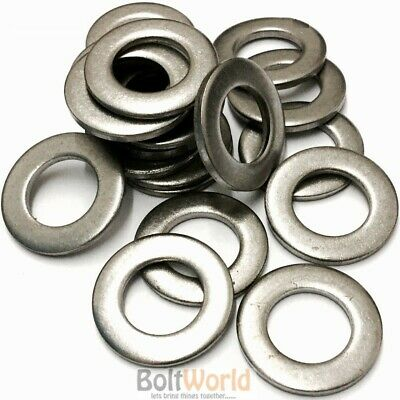 395 Assorted A2 Stainless Steel M4 M5 M6 M8 M10 M12 Form A Flat Washers Washer