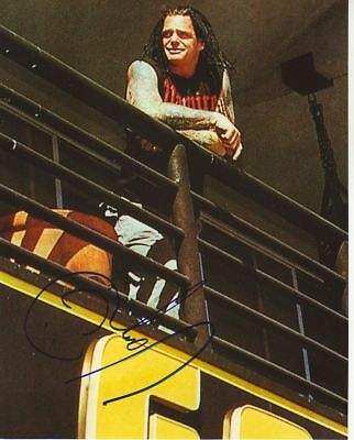 Wwe Wwf Vampiro Autographed Hand Signed 8X10 Photo Wrestling Picture