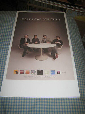 DEATH CAB FOR CUTIE-(soul meets body)-1 POSTER-11X19-NMINT-RARE