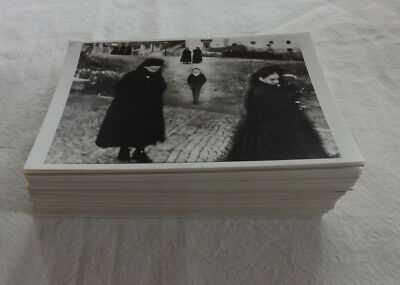 Job Lot x 100 Printed B&W Photograph Postcards All Different Pictures NEW JB285
