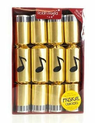 Robin Reed Luxury Deluxe Musical Chime Dinner Party Christmas Crackers Box of 8