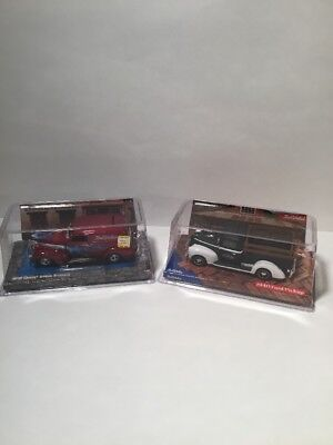 True Value lot of Collectible Vintage Diecast 1939 Chevy 1940 Ford Bank