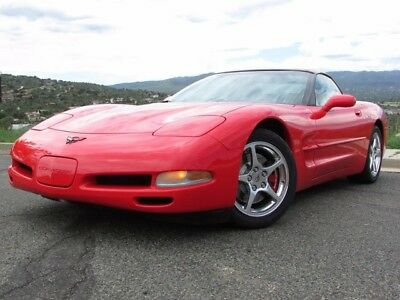 2002 Chevrolet Corvette Base Convertible 2-Door MINT 02 CORVETTE CONVERTIBLE PRISTINE IN AND OUT!