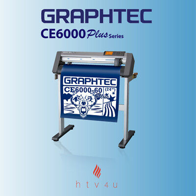 "GRAPHTEC CE6000-60 PLUS 24"" Cutter with Stand + Free 20 Yards of Siser Easyweed"