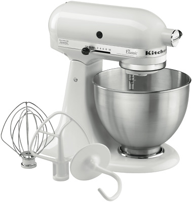 NEW KitchenAid 5KSM45AWH Classic Stand Mixer