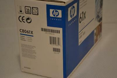 One New Hp 61X Laserjet Print Cartridge C8061X.