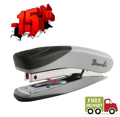 Rexel Bambi Mini Stapler with 1500 Staples Can Handle Up to 10 Sheets at Once
