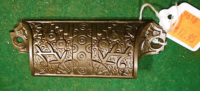 Eastlake Windsor Bin / Drawer Pull - Cast Iron - Circa 1875 - 85 Clean (9618)