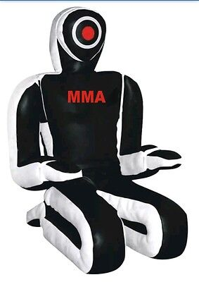 Brazilian JiuJitsu Grappling Dummy BJJ MMA Fighting 6 foot BALCK AND WHITE