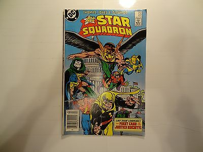 All-Star Squadron #67 (Mar 1987, DC) 7.5 VF-!!! Justice Society!! LOOK!!!