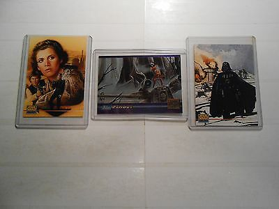 3 Star Wars Galaxy Promo Cards!!! LOOK!!! #000, P3 and SWGM4!!! Great Buy!!!