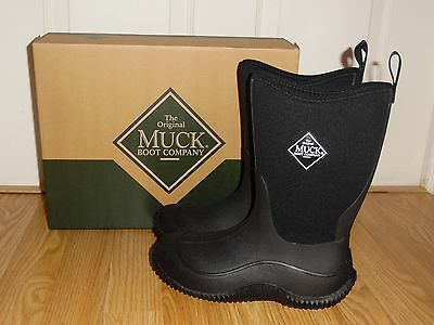 NEW The Original Muck Boot Company Hale Outdoor Sport Kids Youth Size 1 2 3 4