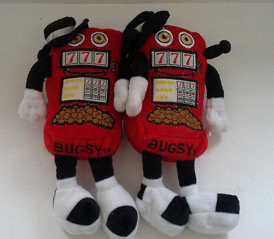 the Mountaineer racetrack and gaming resort casino Bugsy promo stuffed dolls