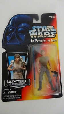 Star Wars The Power Of The Force Luke Skywalker In Dagobah Fatigues