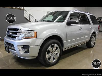 2017 Ford Expedition Platinum 4x4; Silver/Black w/ Only 7k Miles! 2017 Ford Expedition Platinum 4x4; Silver/Black w/ Only 7k Miles! Automatic 4-Do