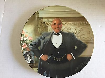 Daddy Warbucks Collector Plate Knowles Bradford Exchange Numbered w/COA     #753