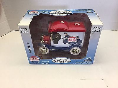 Gearbox Pepsi Cola 1912 Delivery Truck 1:24 Scale Limited Edition Coin Bank #495