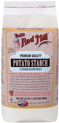Bobs Red Mill Potato Starch, 24-ounce Pack Of 4 Thickening Soups Sauces Stews