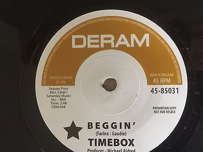DOUBLE SIDER TIMEBOX - BEGGIN/THE QUICK - BERT'S APPLE CRUMBLE-pressing