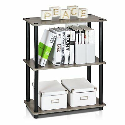 3Tier Compact Multipurpose Shelf Display Stand Living room table Rack bookend