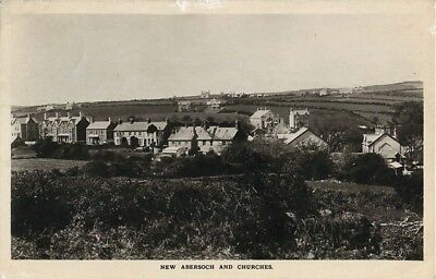 New Abersoch And Churches Bit Different This View Real Photo