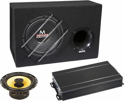 Audio System Co Series Complete Package Subwoofer Final Stage Speaker syst.