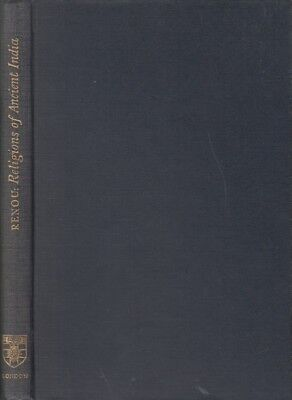 Rare 1953 Indology Lecture Religions Ancient Indian Vedism Vedic Vedas Scholarly