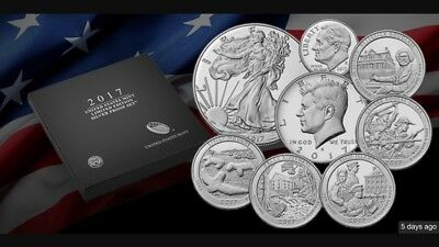 2017 -2 United States Mint Limited Edition Silver Proof Set (17RC)