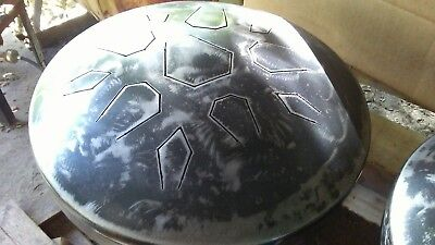 "16"" LotusDrum - HANDCRAFTED in Austin, TX! steel tongue drum handpan Hank Tank"