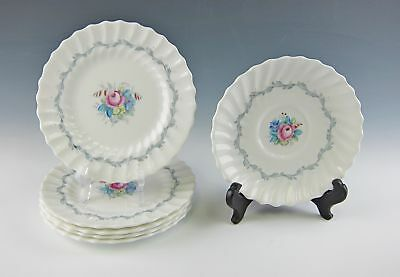 Royal Doulton China CHELSEA ROSE 5 Bread&Butter Plates, 1 Saucer