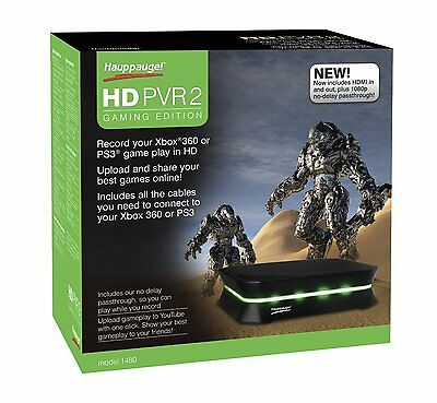 Hauppauge 1480 HD-PVR 2 Gaming Edition Video Recorder Xbox 360, PS3 and Wii NEW
