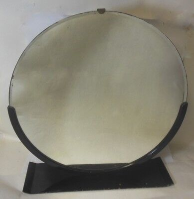 Norman Bel GEDDES Art Deco Dresser Mirror Machine Age Urban Industrial Glam