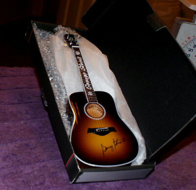George Strait 2014 The Cowboy Rides Away Limited Edition 1:4 Scale Mini Guitar