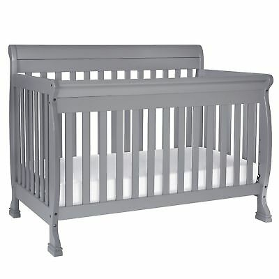 Kalani 4-in-1 Convertible Crib, Grey - M5501G